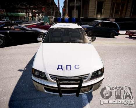 Russian Police Patrol для GTA 4 вид справа