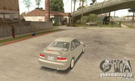 Honda Civic 1998 для GTA San Andreas вид слева