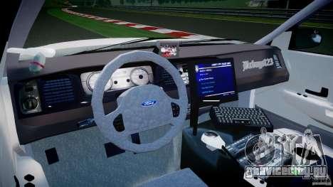 Ford Crown Victoria US Marshal [ELS] для GTA 4 вид справа
