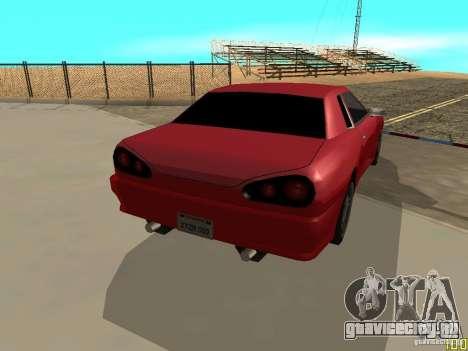 Elegy By w1LD для GTA San Andreas вид слева