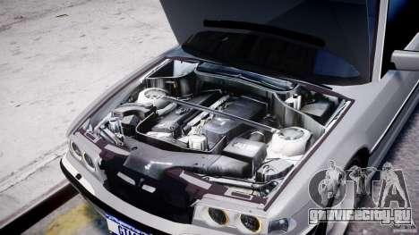 BMW 750i v1.5 для GTA 4 вид снизу