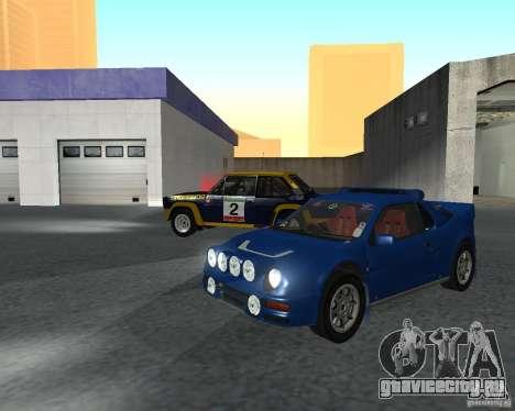 Ford RS 200 для GTA San Andreas вид слева