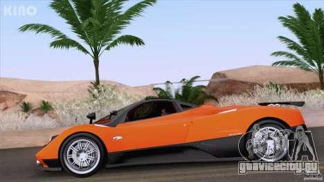 Pagani Zonda F для GTA San Andreas вид сбоку