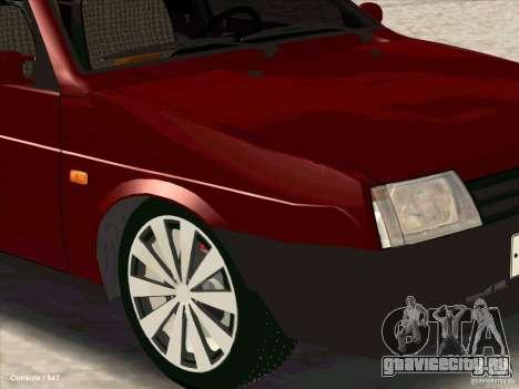 ВАЗ 2109 Зимняя для GTA San Andreas вид справа