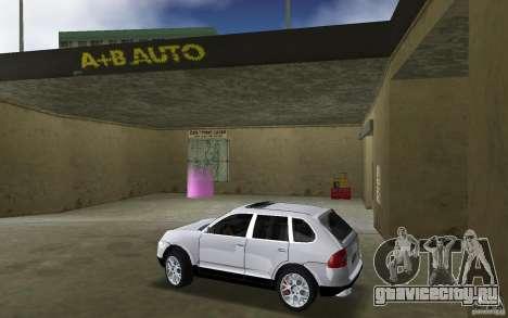 Porsche Cayenne для GTA Vice City вид слева