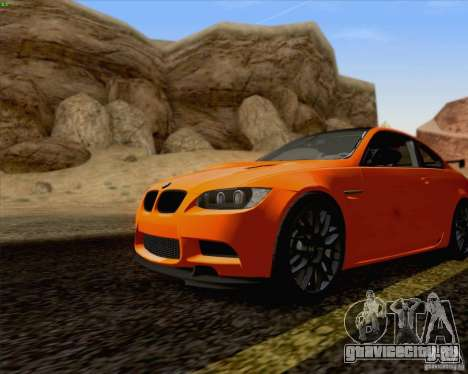 BMW M3 GT-S Fixed Edition для GTA San Andreas вид сзади слева