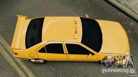 Peugeot 406 Taxi для GTA 4 вид справа