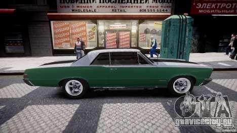 Pontiac GTO 1965 v3.0 для GTA 4 вид сбоку