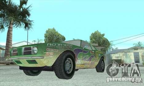 Speedevil из игры FlatOut для GTA San Andreas вид изнутри