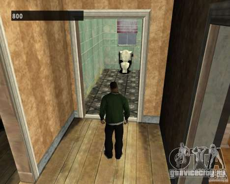 Скрытые интерьеры 3 для GTA San Andreas четвёртый скриншот