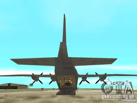Ан-12 для GTA San Andreas вид сзади слева
