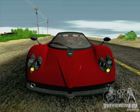 Pagani Zonda F v2 для GTA San Andreas вид сбоку