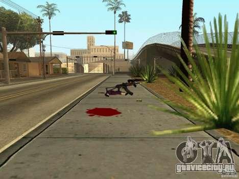 Отечественное оружие - версия 1.5 для GTA San Andreas шестой скриншот