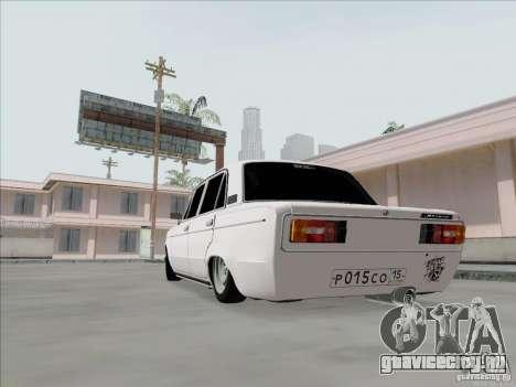 ВАЗ 2106 БПАН для GTA San Andreas вид справа
