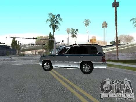 Toyota Land Cruiser 100 VX для GTA San Andreas вид слева