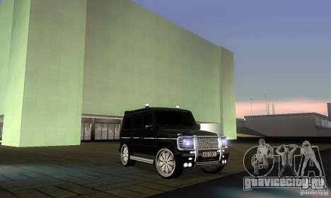 Mercedes Benz G500 ART FBI для GTA San Andreas