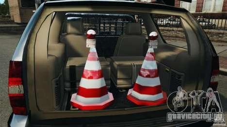 Chevrolet Tahoe LCPD SWAT для GTA 4 вид сверху
