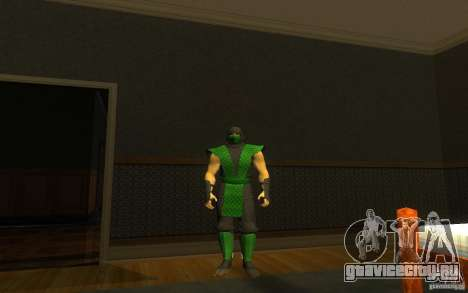 Retro Reptile mk для GTA San Andreas второй скриншот