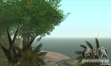Тропический остров для GTA San Andreas