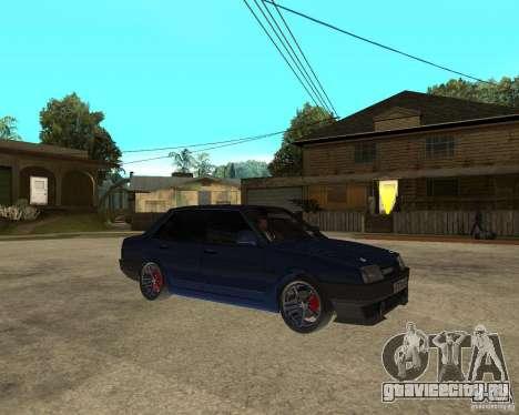 Ваз 21099 Tuning By Danil для GTA San Andreas вид справа