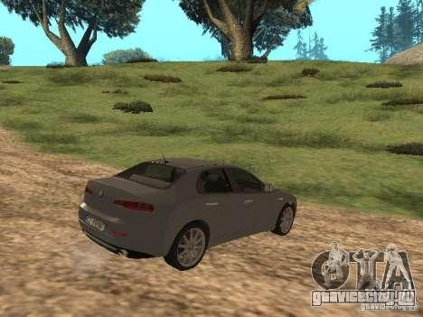 Alfa Romeo 159Ti для GTA San Andreas вид справа
