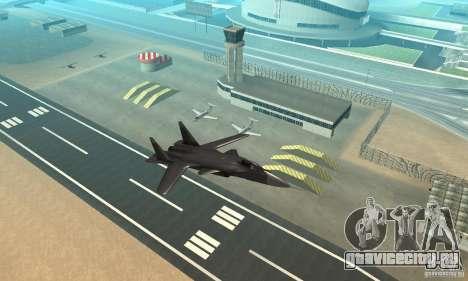 Су-47 «Беркут» Defolt для GTA San Andreas вид справа