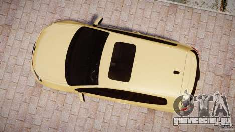 Volkswagen Golf GTI Mk6 2010 для GTA 4 вид справа