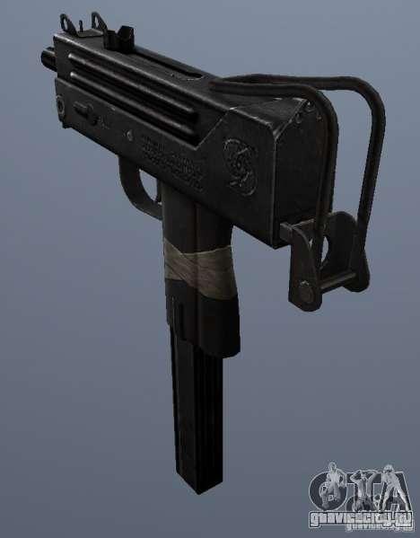 MAC10 для GTA San Andreas второй скриншот