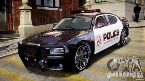 Dodge Charger NYPD Police v1.3 для GTA 4 вид слева