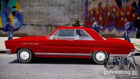 Ford Mercury Comet 1965 [Final] для GTA 4 вид сбоку