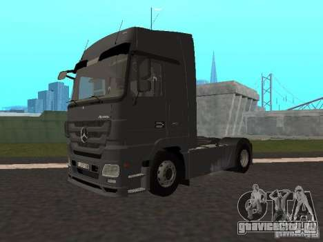 Mercedes-Benz Actros MP3 для GTA San Andreas