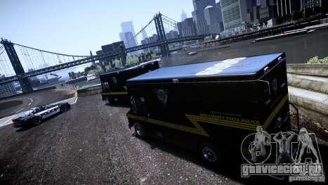 Boxville Police для GTA 4 вид сзади слева