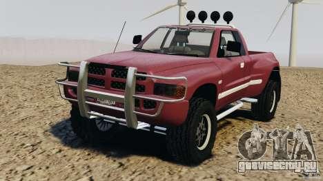 Dodge Ram 2500 Army 1994 v1.1 для GTA 4