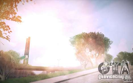 Lensflare 1.1 Final для GTA San Andreas третий скриншот