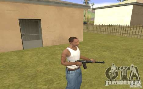 Специальный автомат ВАЛ для GTA San Andreas третий скриншот