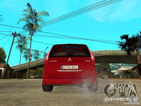 Citroen C8 для GTA San Andreas вид сзади слева