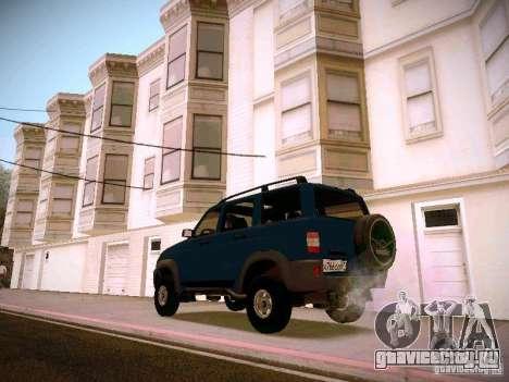 УАЗ 3160 Патриот для GTA San Andreas вид слева