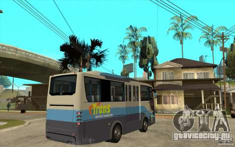 Hino Evo C для GTA San Andreas вид справа