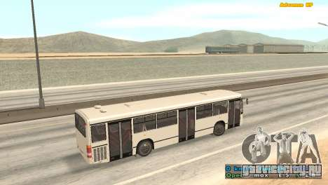 Mercedes-Benz Turk O345 для GTA San Andreas вид сзади слева