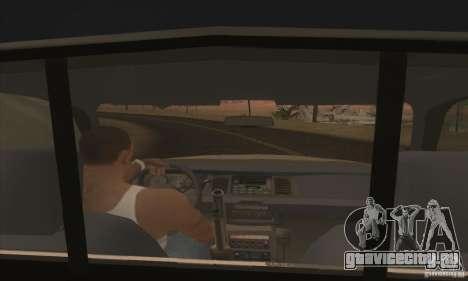Ford Crown Victoria Iowa Police для GTA San Andreas вид сзади слева