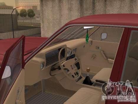 Toyota Cressida для GTA San Andreas вид изнутри