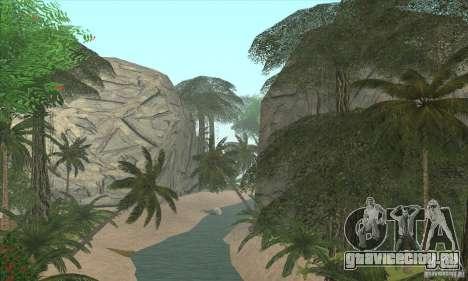 Тропический остров для GTA San Andreas второй скриншот