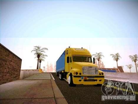 Freightliner Century Classic для GTA San Andreas вид сзади