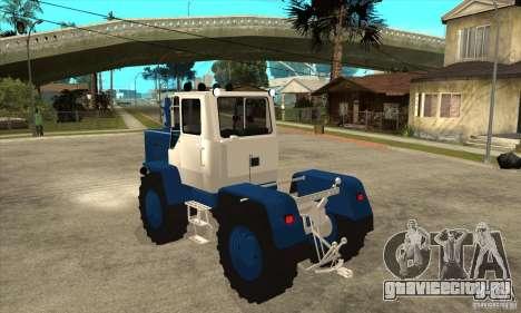 Трактор Т150 для GTA San Andreas вид сзади слева