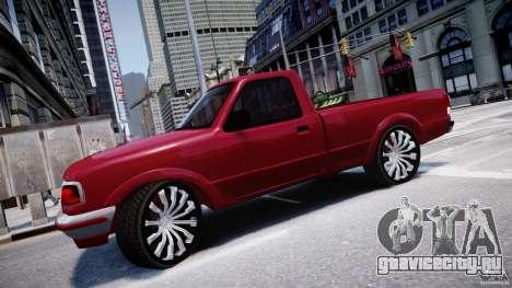 Ford Ranger для GTA 4 вид слева