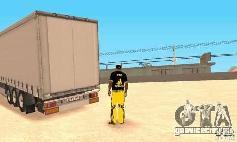 Krone Trailer для GTA San Andreas вид слева
