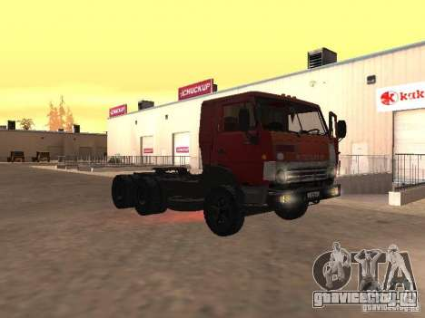 КамАЗ 5410 для GTA San Andreas вид сбоку