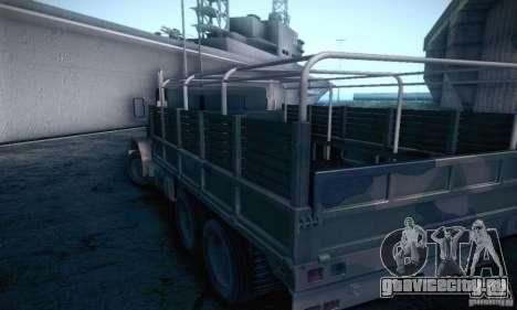 Barracks HD для GTA San Andreas вид сзади слева