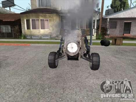 Turbo car v.2.0 для GTA San Andreas вид сзади