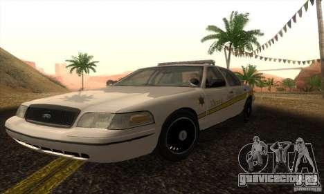 Ford Crown Victoria Illinois Police для GTA San Andreas